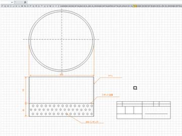 エクセルで図面を作成
